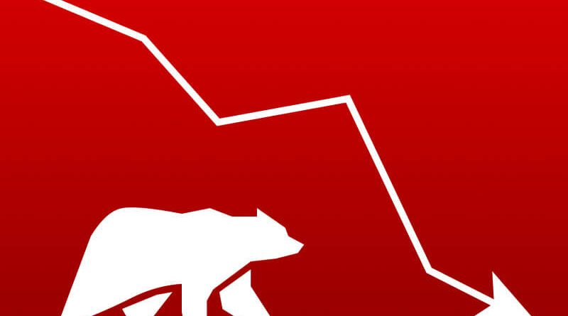 nepse index fall