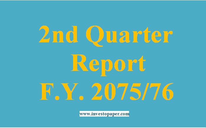 2nd quarter financial report